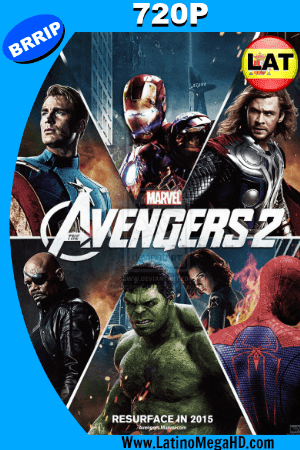 Los Vengadores 2: La Era de Ultron (2015) Latino HD 720P ()