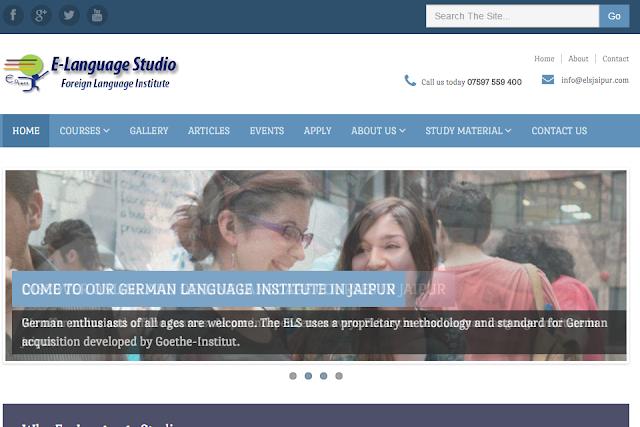 online learning german language in jaipur