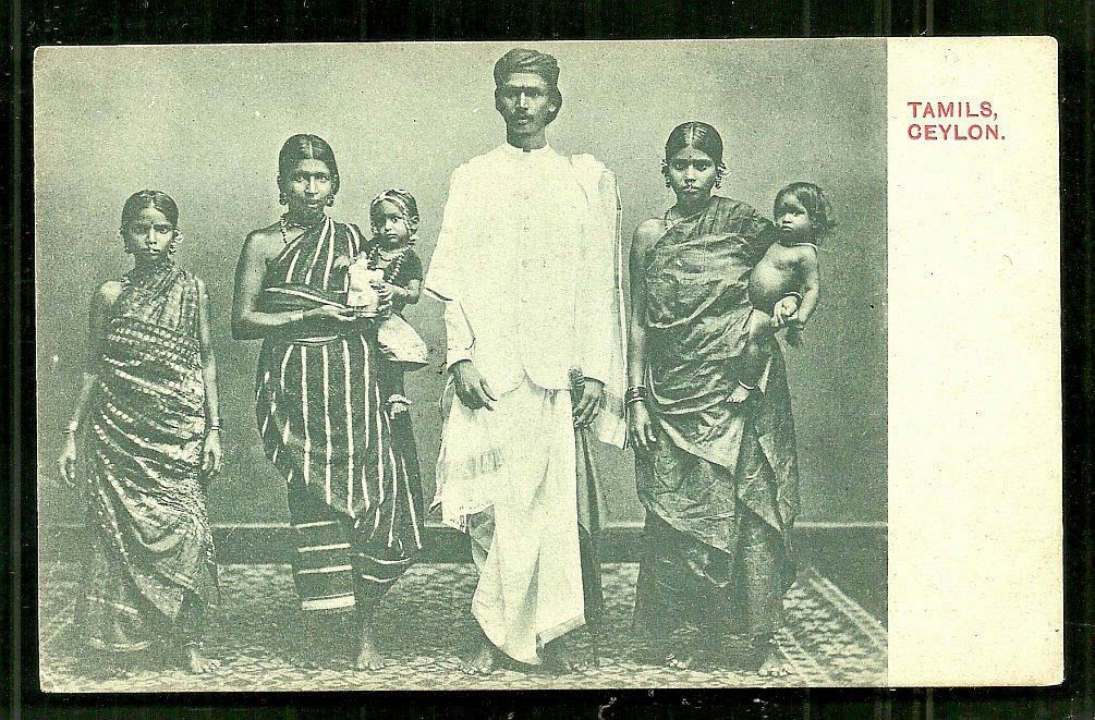 Tamil Family - Ceylon (Sri Lanka) 1906