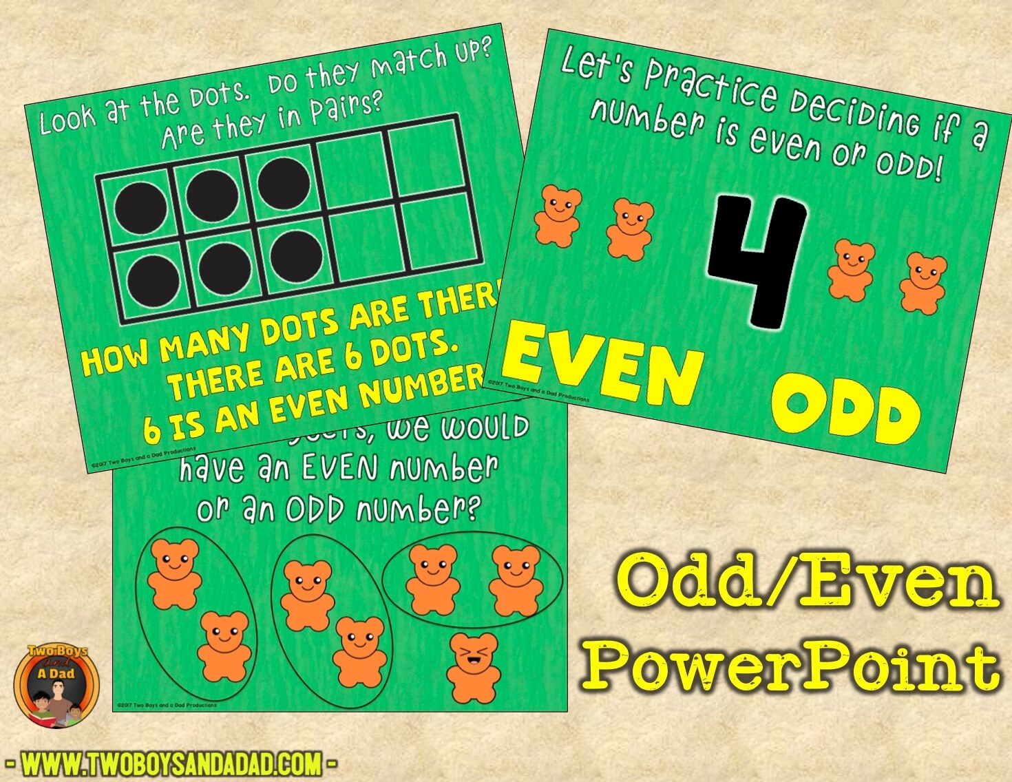 odd and even PowerPoint