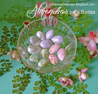 venta de almendras de colores dorado  y plateado y venta de almendras como huevitos de ave codirniz en guatemala