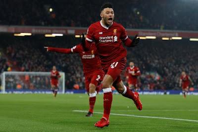 Highlight Liverpool 4-3 Manchester City, 14 Januari 2018