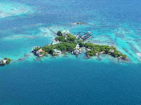 Islas del Rosario en Colombia