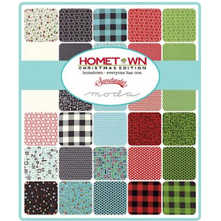 Moda Hometown Christmas Edition Fabric by Sweetwater for Moda Fabrics
