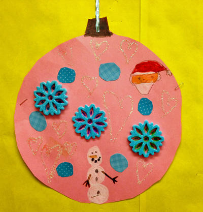 Christmas ornament art