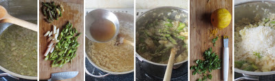 Zubereitung Frühsommerlicher Spargel-Risotto