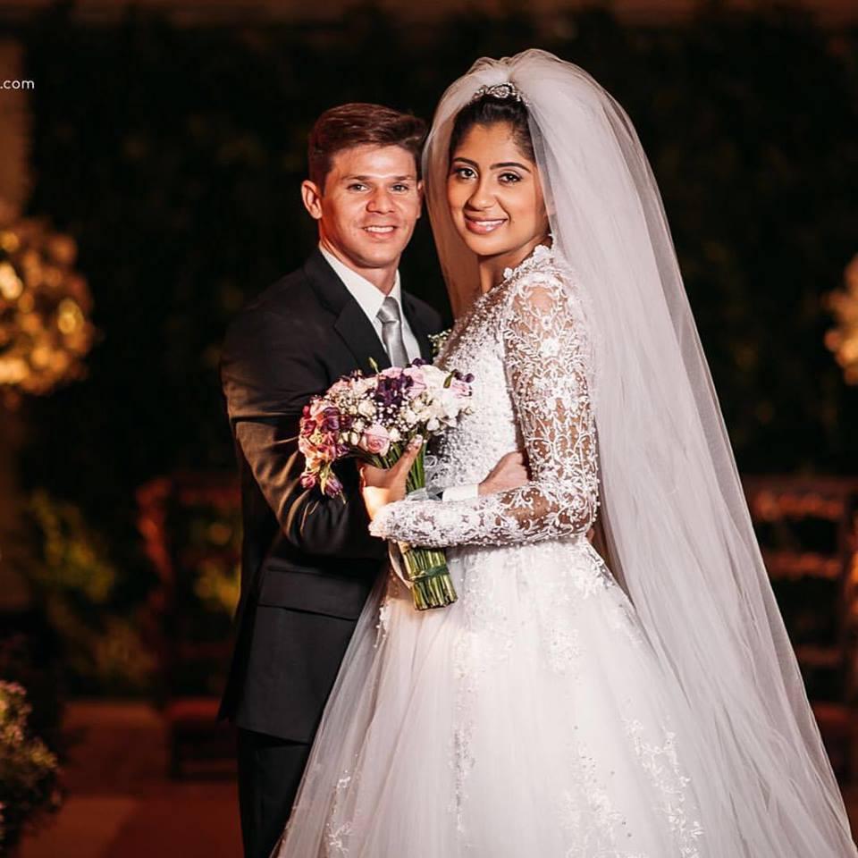 Fotos do casamento de cl udia da dupla can o e louvor - Casamento no brasil vale no exterior ...