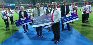 बीसीसीआई ने आईपीएल के 12वें संस्करण का उद्घाटन समारोह रद्द कर इसकी राशि सैन्य बलों को दान कर दी है।