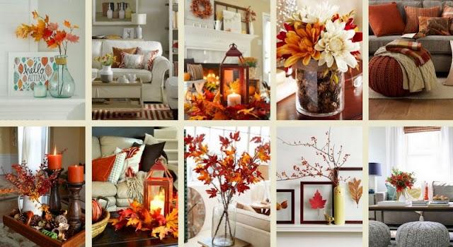 40+  Φθινοπωρινές Διακοσμήσεις