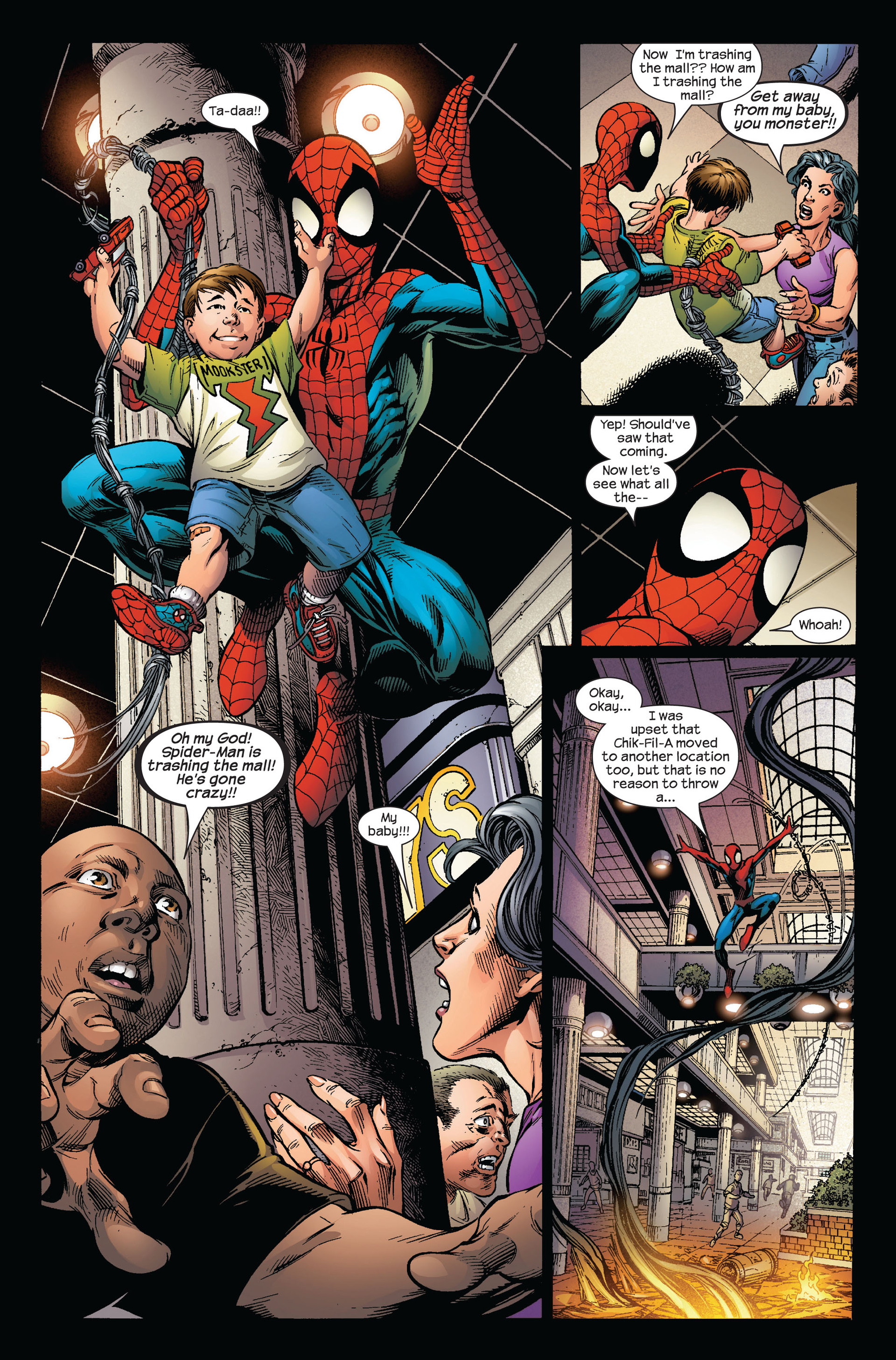 Read online Ultimate Spider-Man (2000) comic -  Issue #97 - 12