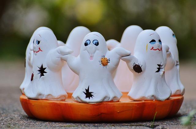 fantasmas, halloween, scary