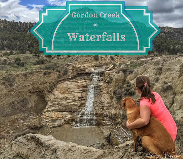 The Best Dog Friendly Waterfalls Hikes in Utah, Gordon Creek Falls, Gordon Creek Waterfall