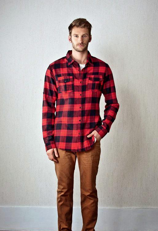 bb66a0087c5ef Macho Moda - Blog de Moda Masculina  Camisa Xadrez Masculina em alta ...
