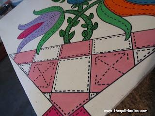 barn quilt details