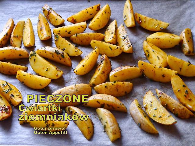 Pieczone ćwiartki ziemniaków  - Czytaj więcej »