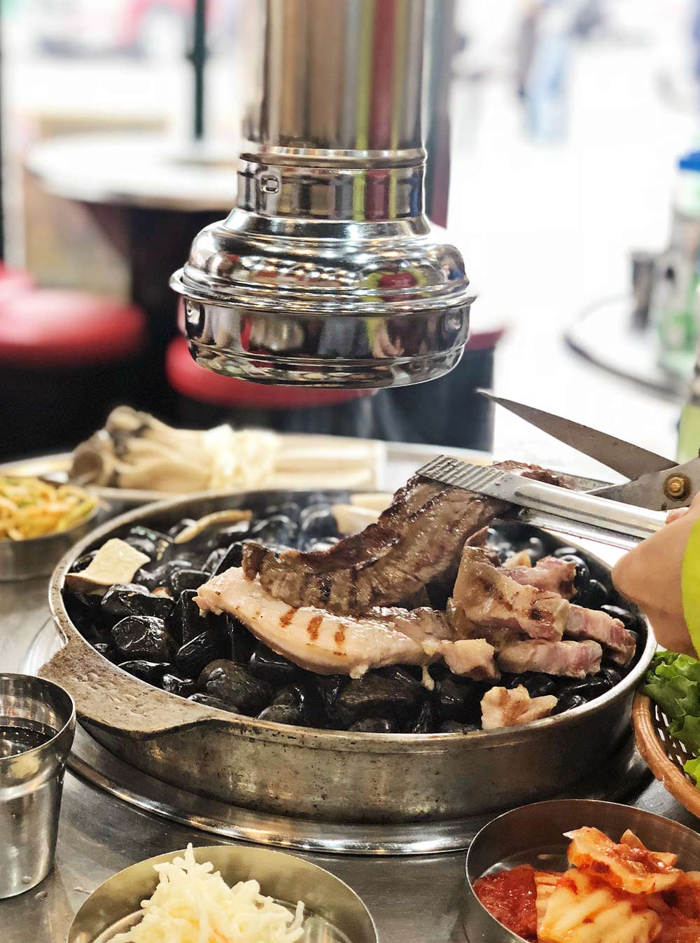 Piggy Bank Stone Grill Barbecue -Why Seoul is a Perfect City to go for a Girl's Trip