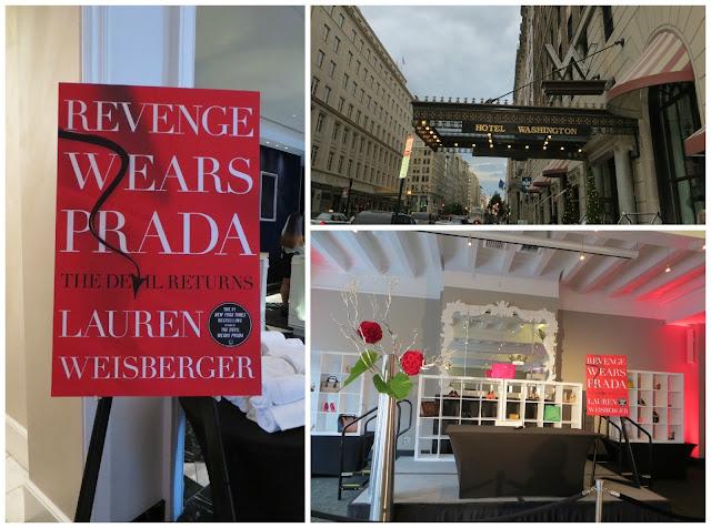Revenge Wears Prada Washington DC book signing
