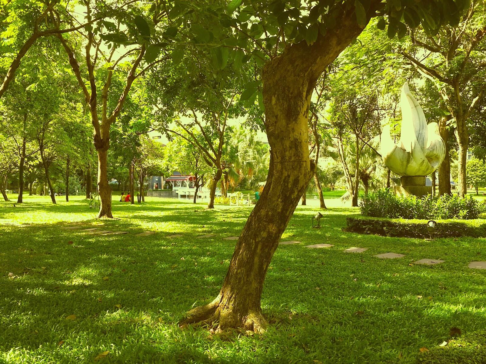 Benjasiri Park in Bangkok, Thailand