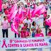 Eunápolis realiza 8ª caminhada do Outubro Rosa