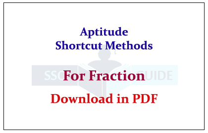Numerical Ability Shortcuts Pdf
