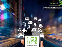 Teletalk 1GB data only 150 taka
