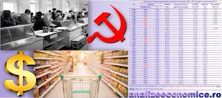 Evoluția PIb-ului, consumului, exporturilor și investițiilor în comunism și capitalism