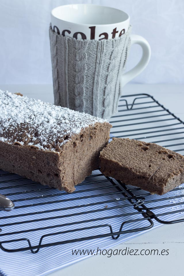 Plum cake de chocolate