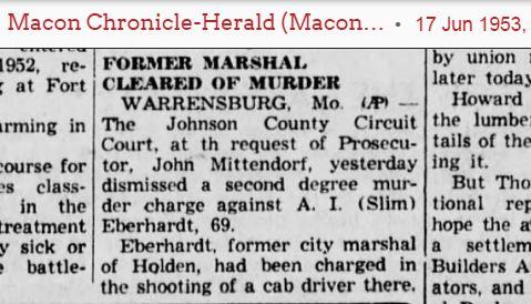SHOW ME - Johnson County - Western Missouri History: Some