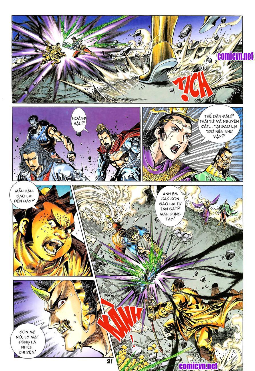 Đại Đường Uy Long chapter 80 trang 22