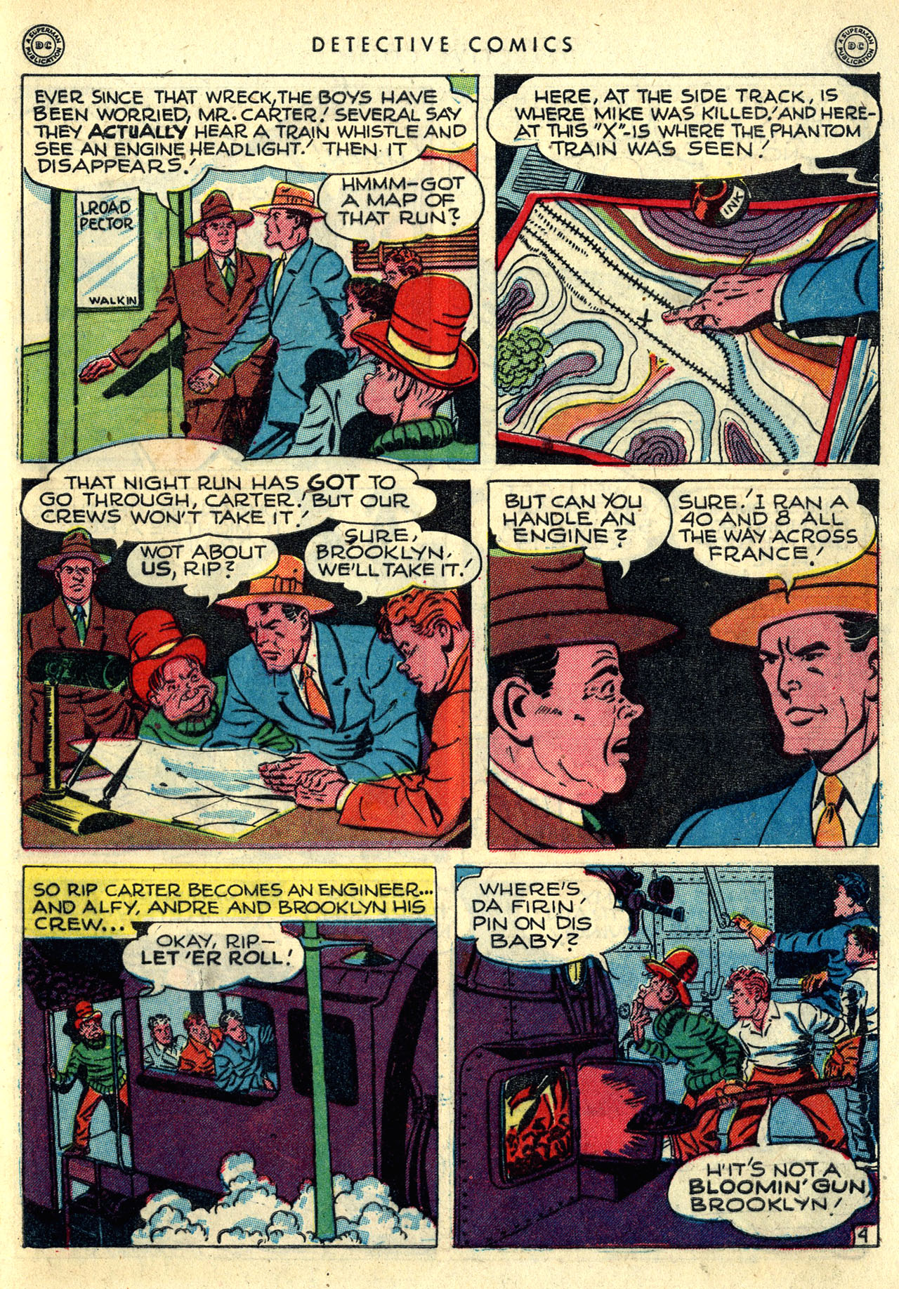Read online Detective Comics (1937) comic -  Issue #121 - 41