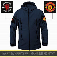 Jaket Waterproof Manchester United