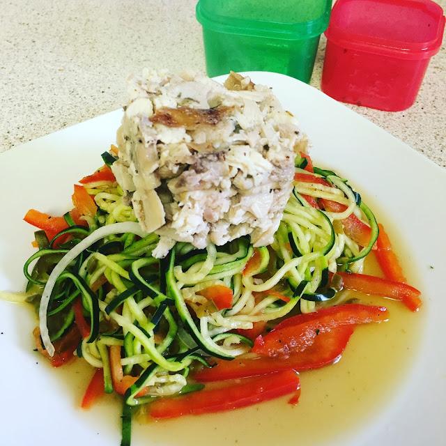 zucchini noodles pasta recipe
