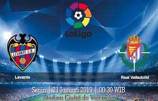 Prediksi Levante vs Real Valladolid 21 Januari 2019
