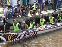 BREAKING NEWS: Lumba Kapuas Desa Seraras Juarai Sungai Kuala Mempawah