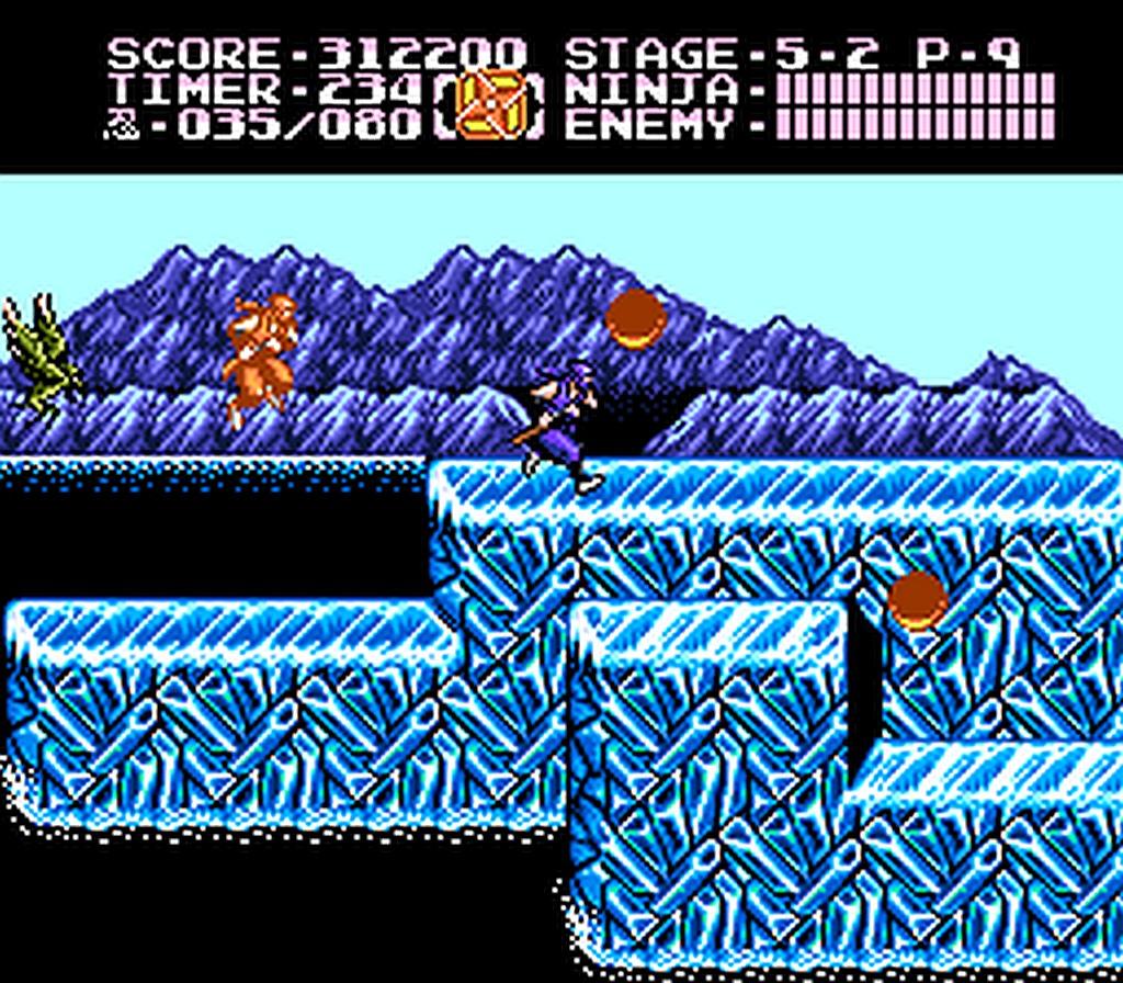 ninja gaiden 2 nes cutscenes
