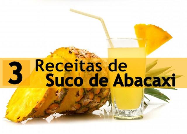 3 Receitas de Suco de Abacaxi para uma pele bonita, melhor digestão e artrite