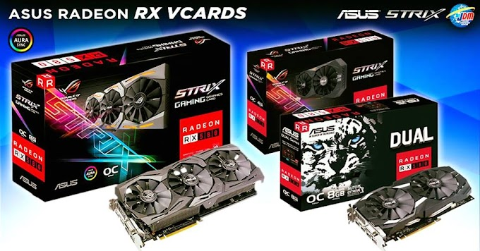 Local News: JDM Offers up to 59% Discount on their ASUS RX Graphics Cards