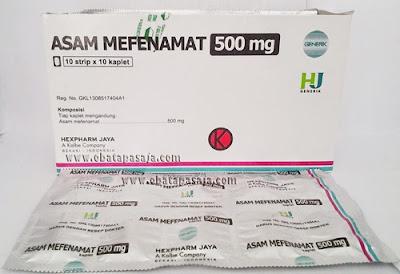 Kegunaan Asam Mefenamat 500 Mg Untuk Obat Sakit Gigi, Efek Samping Dan Mekanisme Kerjanya