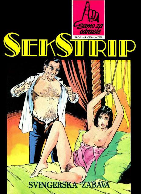 Svingerska zabava - Seks Strip