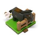Minecraft Donkey & Chicken Craftables Series 2 Figure