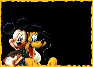 Marcos de Mickey Mouse para Niños.