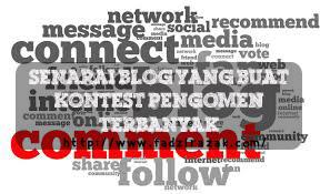 Senarai Blog Yang Buat Kontest Pengomen Terbanyak