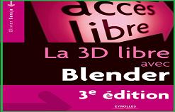 """Livre PDF """" La 3D libre avec Blender """""""