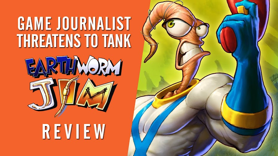 game journalist chris scullion sjw threat doug tennapel earthworm jim game tank review