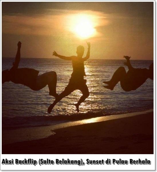 Parkour Medan di Pulau Berhala