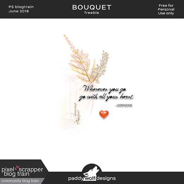Bouquet + Freebie