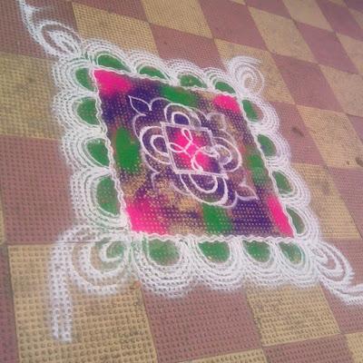 Marathi Festival Rangolis