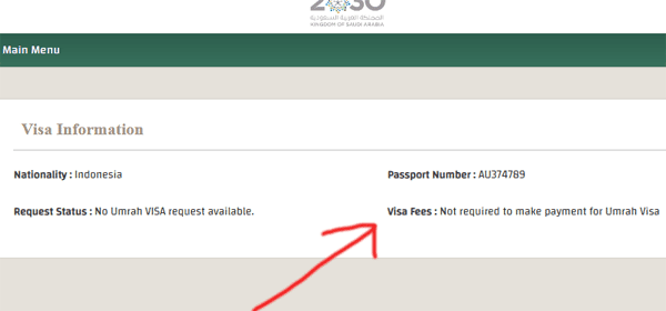 status visa fee requirmen sar 2000