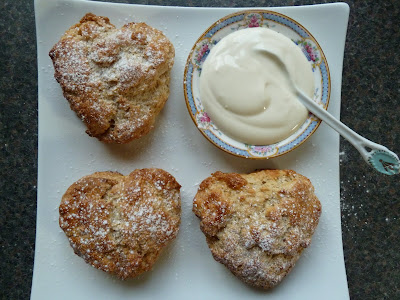 Apricot and Yogurt scones recipe
