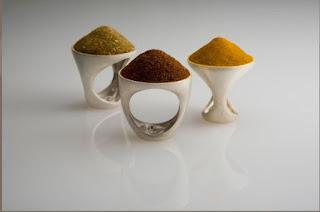spezie mini - Genial arte-design italiano de Luisa Bruni
